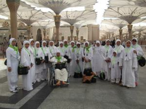 Galery Umroh PT. Qiblat Wisata 6.